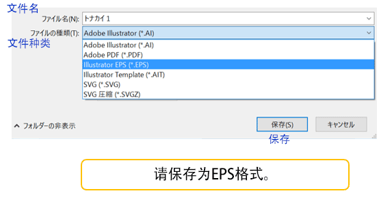 请保存为EPS格式。
