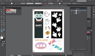 使用已与打印机相连接电脑上的Illustrator软件来打开数据