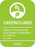 GREENGUARD Gold 认证标签